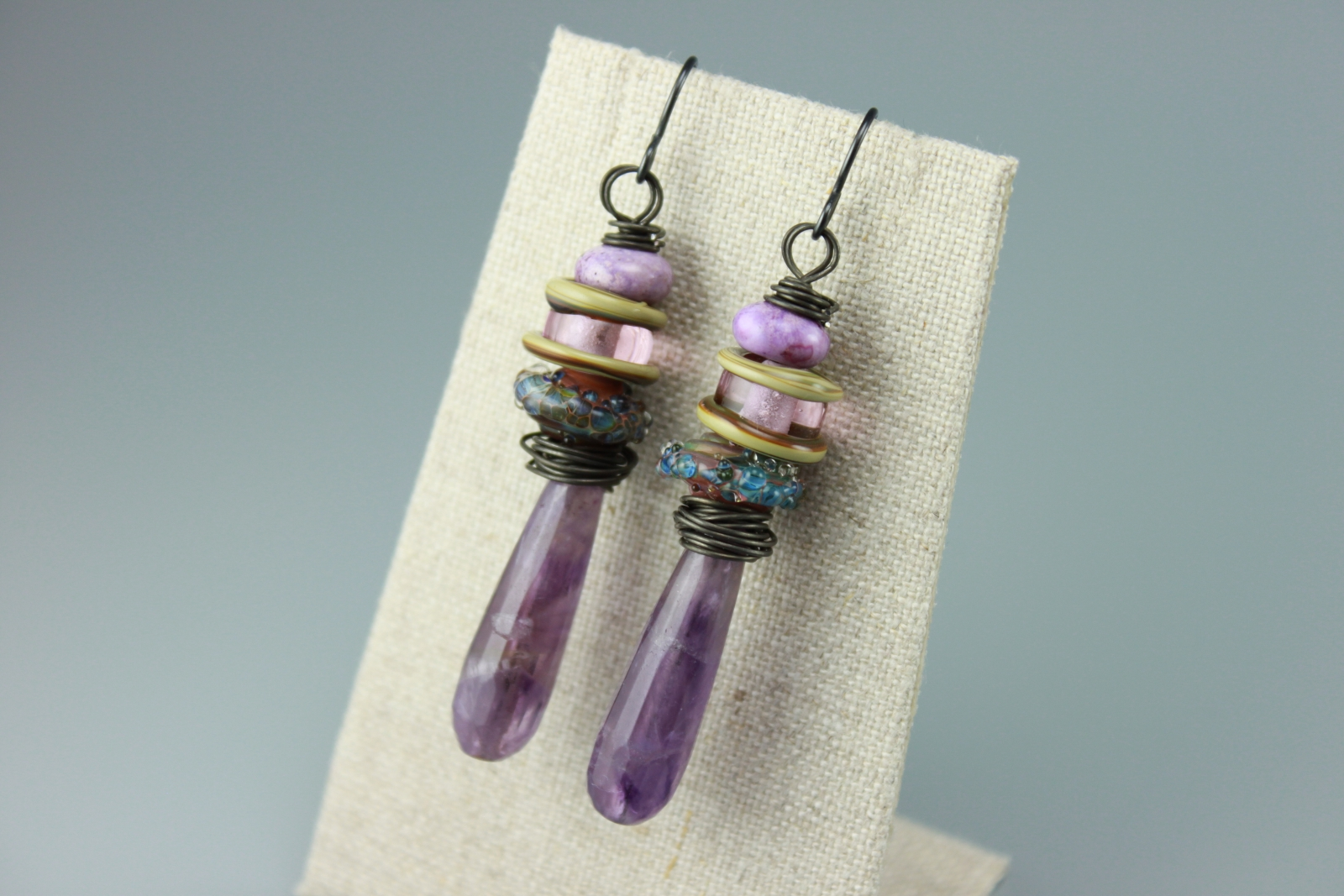 Directions for Making Your Own Amethyst Necklace, Bracelet ...